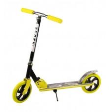 Самокат детский 2-колесный желтый (Baby Tilly BT-KS-0168)