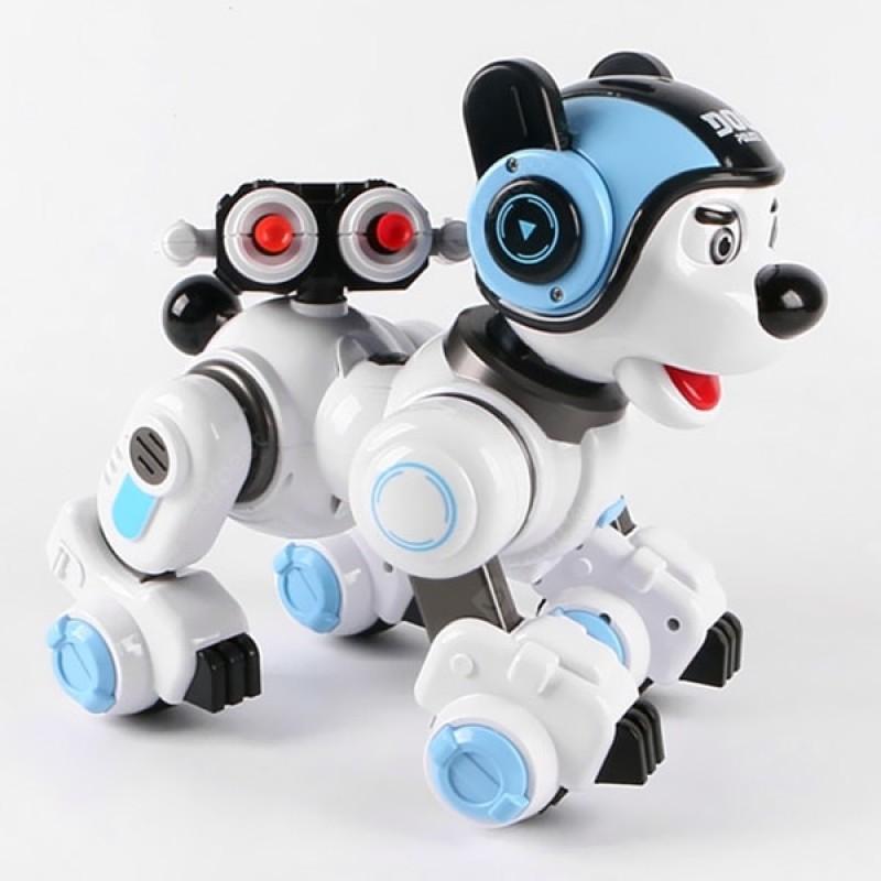 Интерактивная робот-собака Crazon на р/у (арт. 1901)