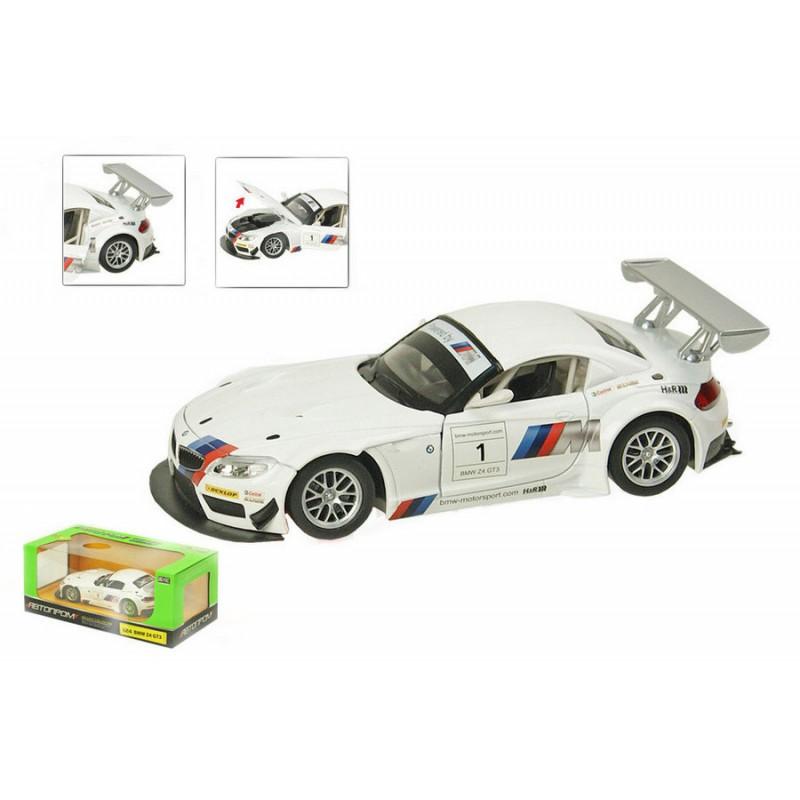 Автомодель 1:24 BMW Z4 GT3 (Автопром 68260A)