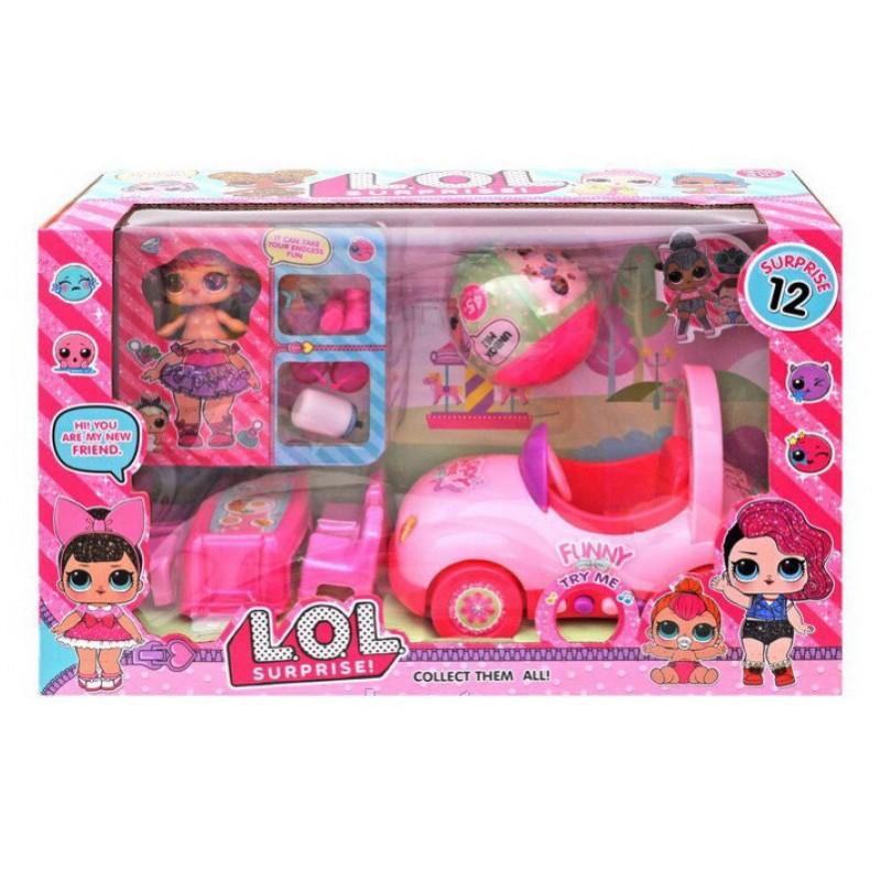 Набор с куклами LOL и машинкой (арт. TM929)