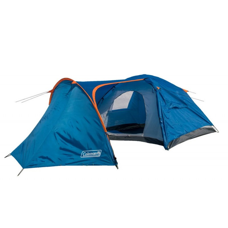 Палатка четырехместная двухслойная с тамбуром и тентом (Coleman 1009)