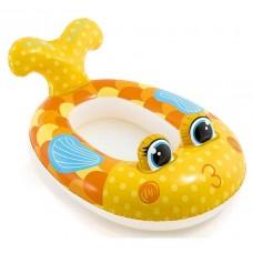 """Детский надувной плотик """"Золотая рыбка"""" (Intex 59380)"""