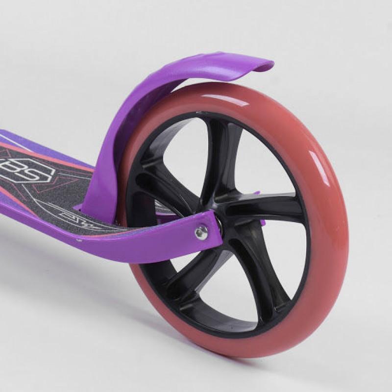 Двухколесный самокат, Фиолетовый (Best Scooter 40678)