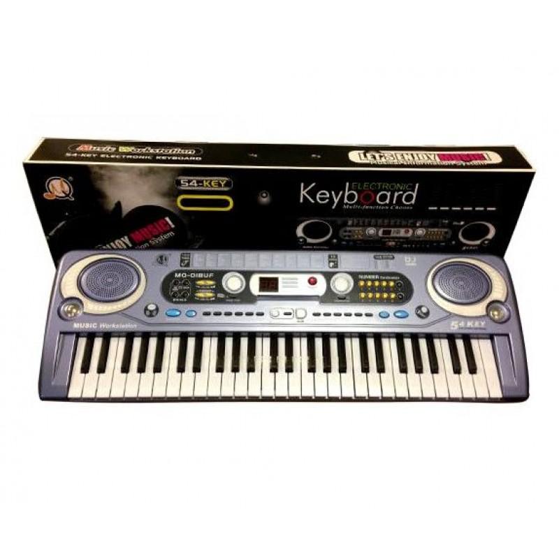 Детский синтезатор, FM радио, микрофон (арт. MQ020)