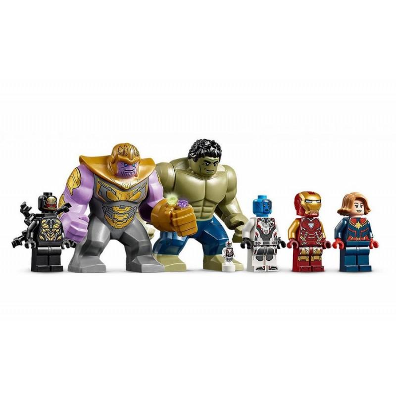 """Конструктор - """"Marvel Heroes - Битва на базе Мстителей"""" (арт. 11262)"""