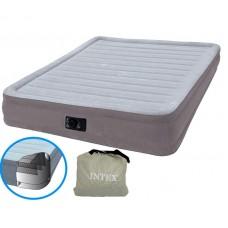 Надувная двухспальная кровать Comfort Airbed с встроенным электронасосом (Intex 67770)