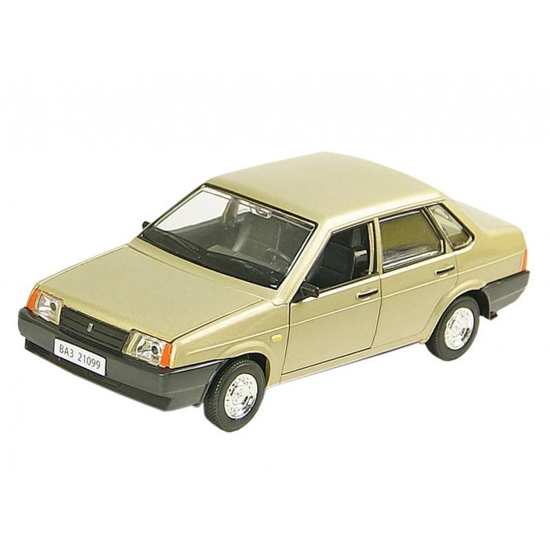 Автомодель 1:22 ВАЗ-21099 (Автопром 21099)