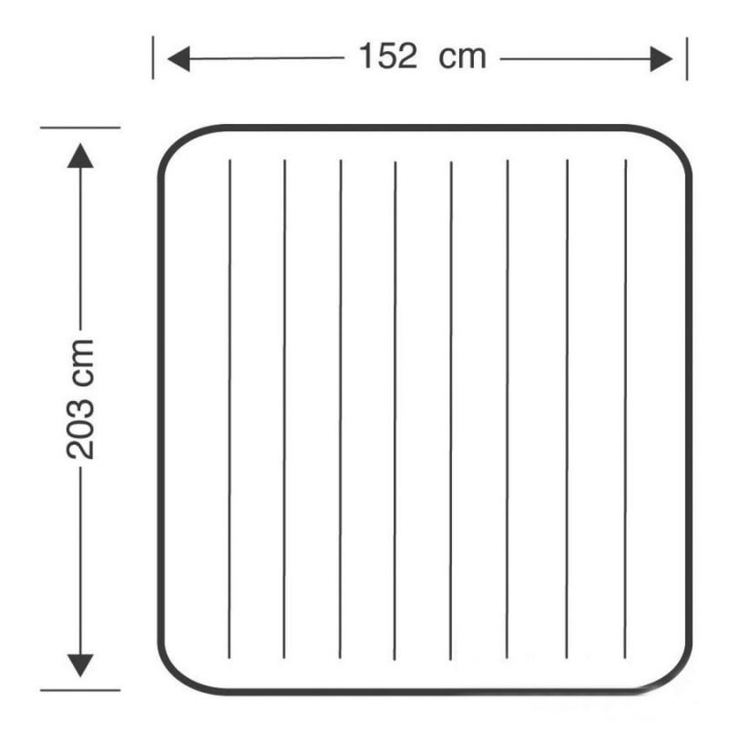 Надувной Двухспальный матрас (Intex 64765)