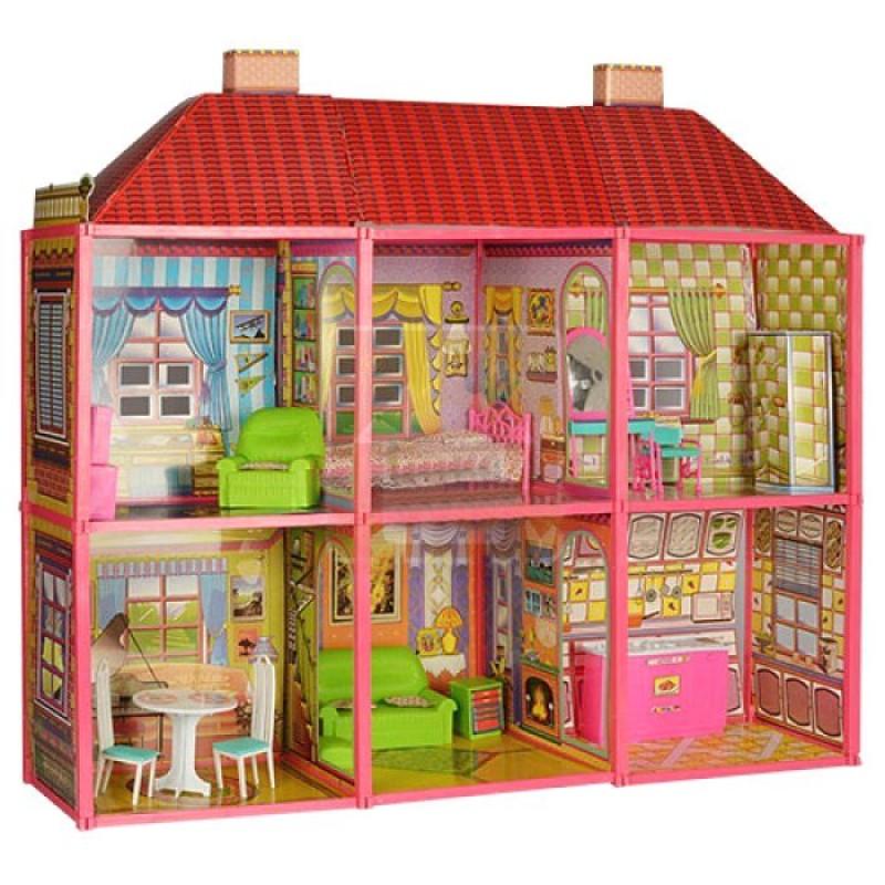 Двухэтажный домик для кукoл Барби My Lovely Villa (арт. 6983)