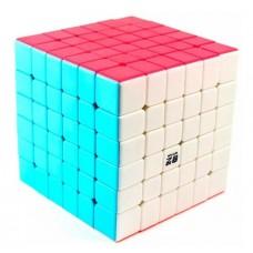 Кубик Рубика 6х6х6 - цветной пластик (QIYI Cube EQY538)