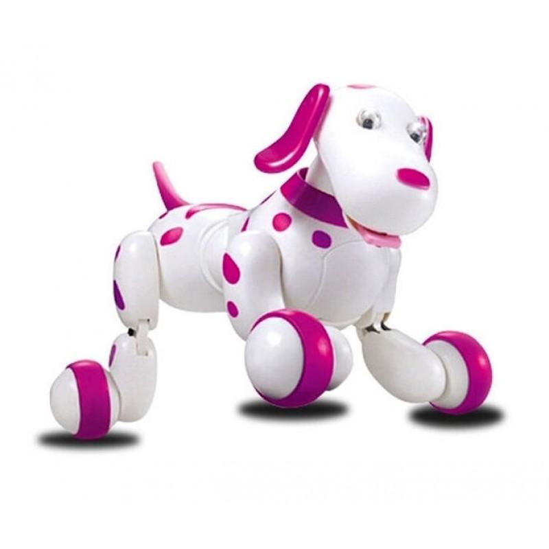 Робот-собака на р/у Smart Dog, Розовый (HappyCow 777-338)