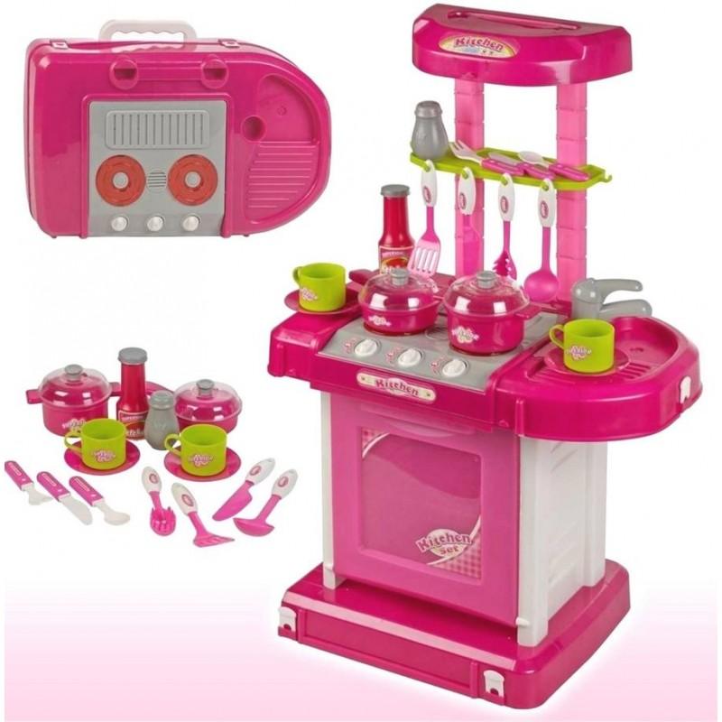 Игровой набор - Кухня с посудой (арт. 928051)