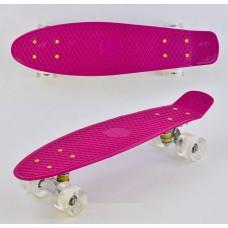 Скейт Пенни Борд, PU светящиеся колеса (Best Board 9090)