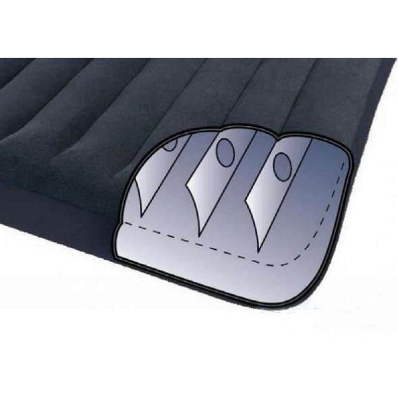 Надувной матрас с подголовником (Intex 66768)