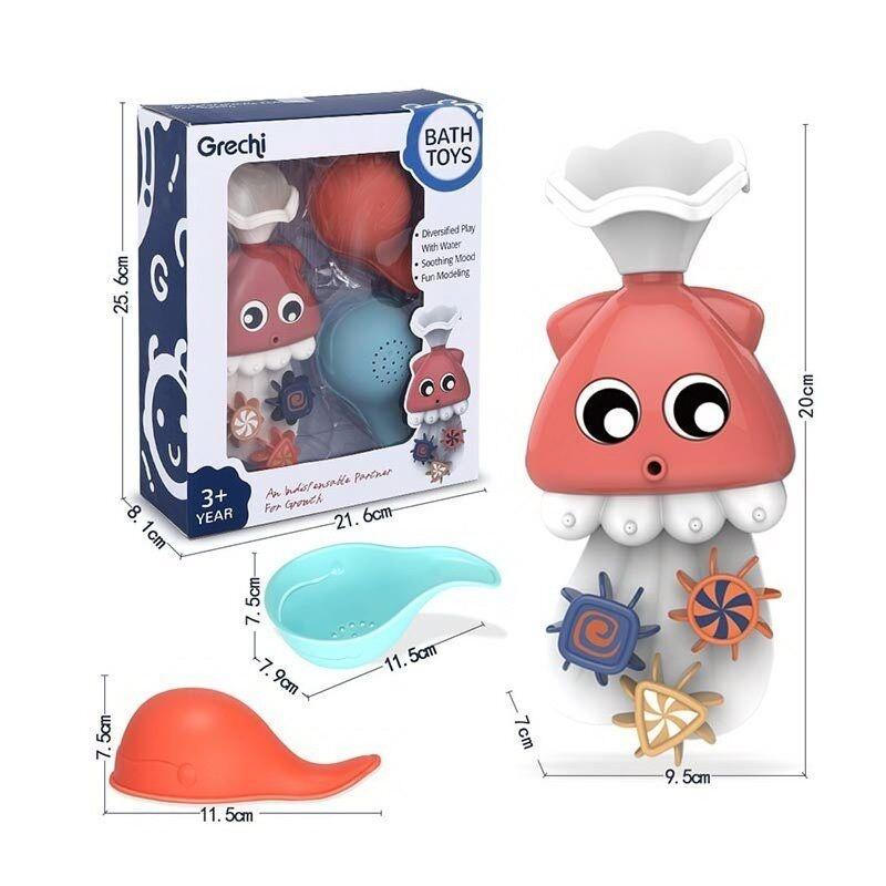 """Игрушка для ванной """"Подводный мир"""" на присоске (Bath Toys G408-1)"""