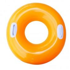 """Надувной круг """"Hi-Gloss Tubes"""" -  Оранжевый, 76 см (Intex 59258-2)"""