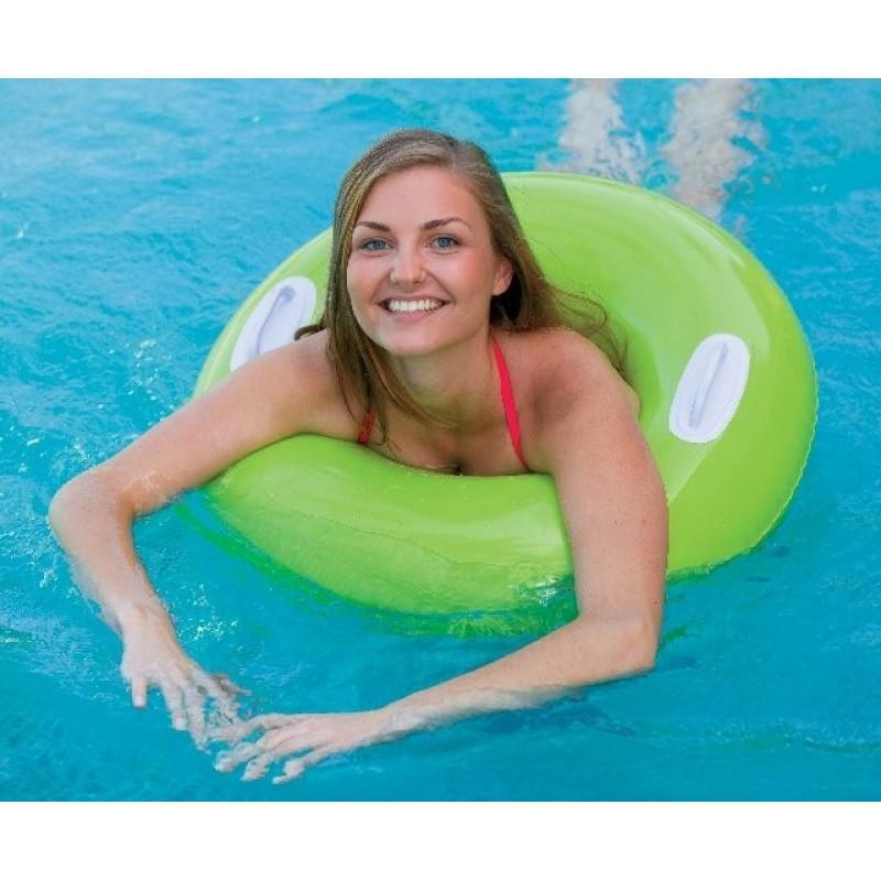 """Надувной круг """"Hi-Gloss Tubes"""" - Зеленый, 76 см (Intex 59258-1)"""
