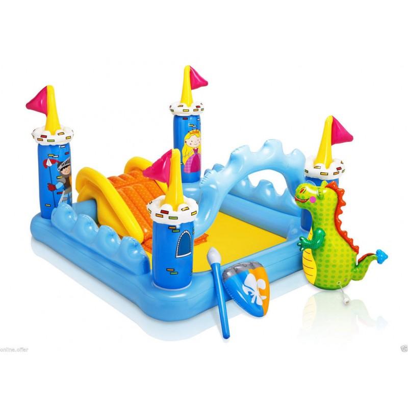 """Детский надувной центр """"Фантастический Замок"""" (Intex 57138)"""