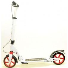 Самокат RiderZ Urban Scooter, ручной тормоз, Красный (iTrike SR2-018-1)