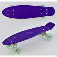 Скейт Пенни Борд, PU светящиеся колеса (Best Board 0660)