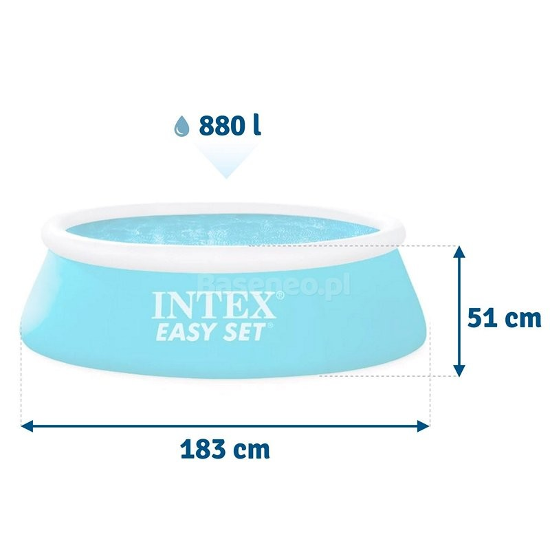 Надувной бассейн Easy Set (Intex 28101)