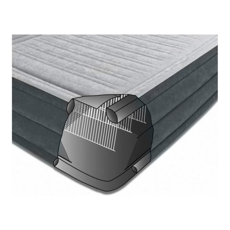 Надувная кровать со встроенным электронасосом (Intex 64418)