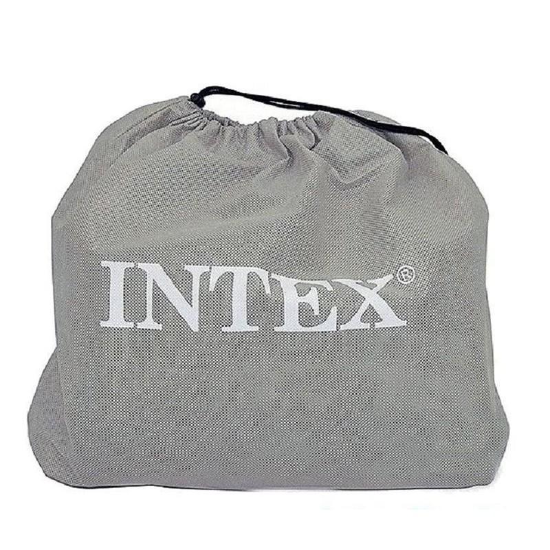 Двуспальная надувная кровать со встроенным насосом (Intex 64124)