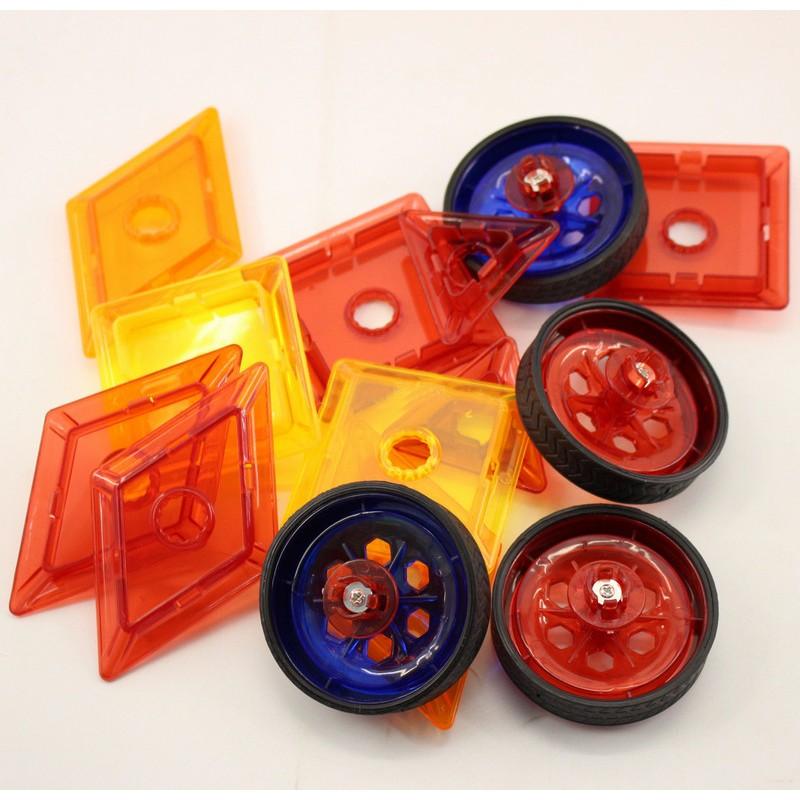 Магнитный 3D конструктор Magical Magnet, 46 дет. (арт. 7046)
