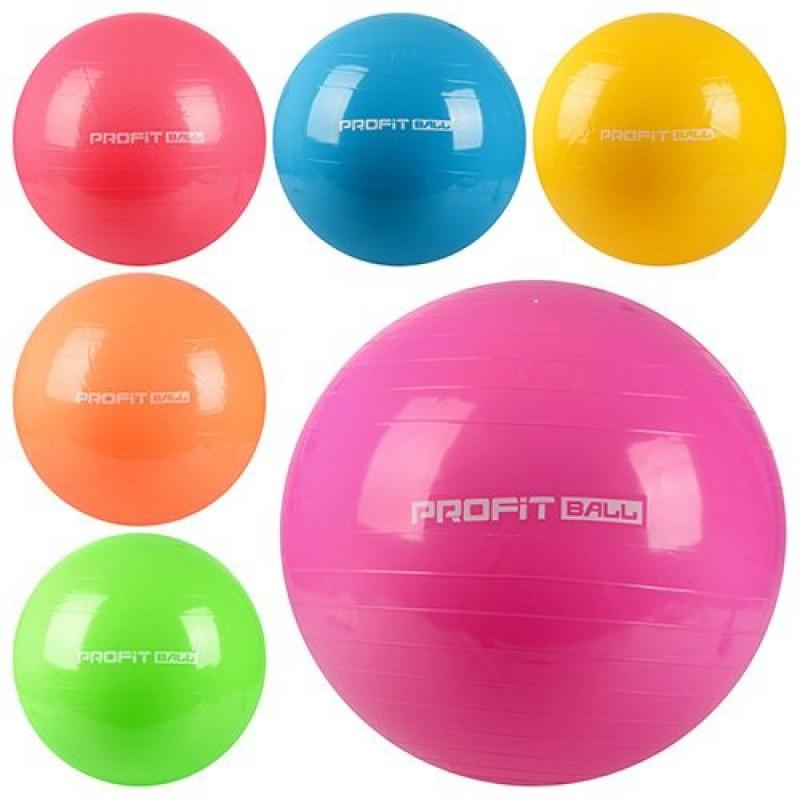 Мяч для фитнеса - фитбол 65 см (Profitball MS0382)