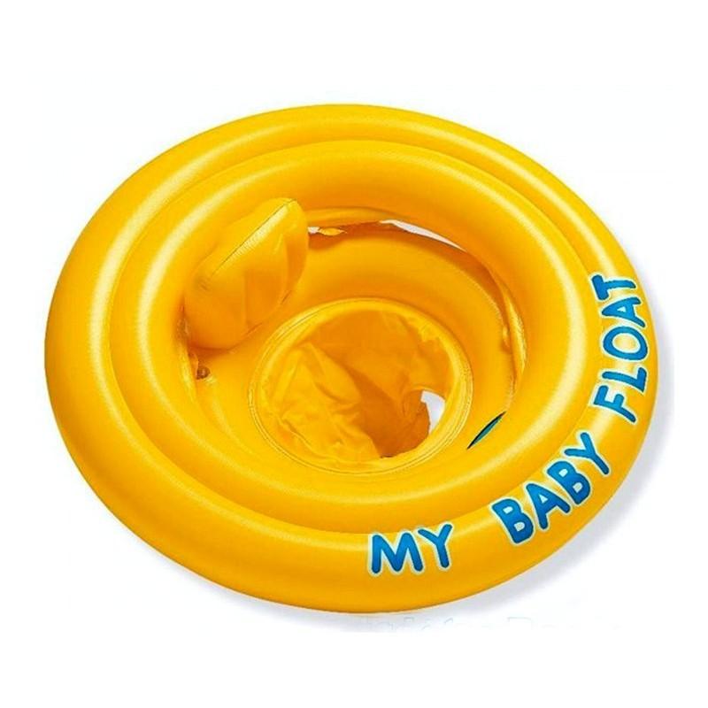 Детский надувной круг-ходунки (Intex 56585)