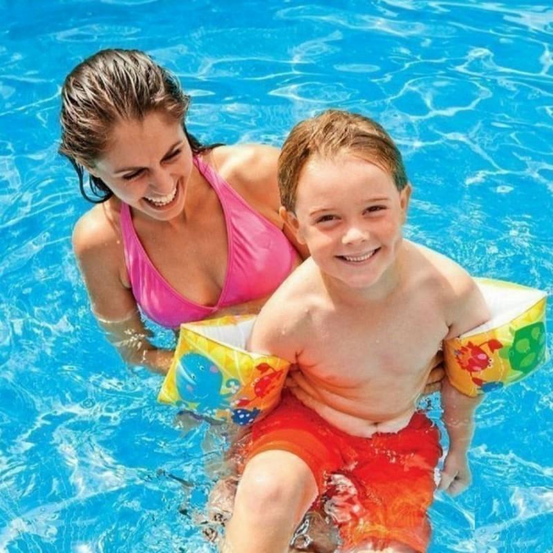 """Детские надувные нарукавники для плавания """"Рыбки"""" (Intex 58652)"""