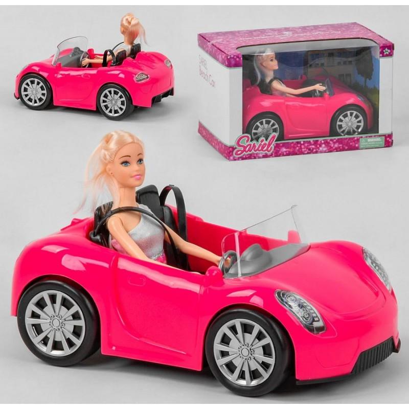 """Кукла с машинкой """"Веселая поездка"""" (арт. 8833)"""