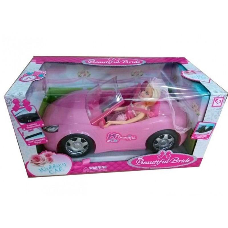 Игровой набор Кукла Beauty с машиной (арт. K877-30D)