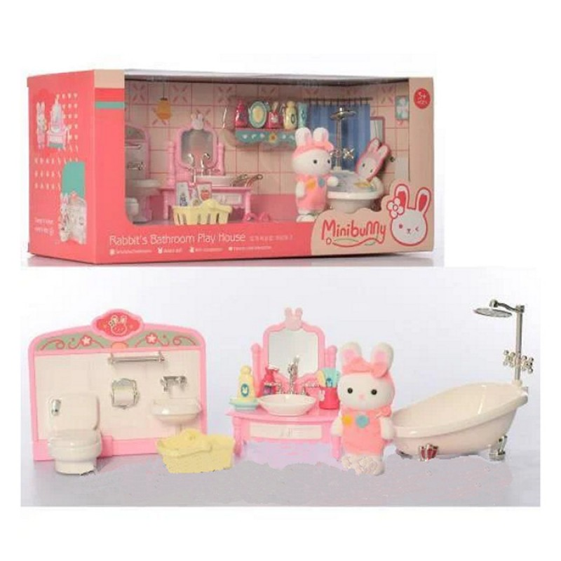 """Набор мебели """"Счастливая семья"""" - Ванная (арт. 333)"""