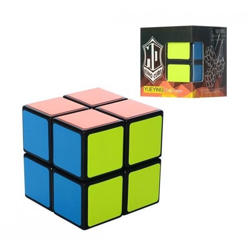 Кубик Рубика 2x2x2 - черный пластик (YUEYING 379005-A)