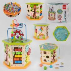 """Деревянный логический куб """"Fun Game"""" (арт. 89870)"""