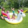 """Детский надувной бассейн """"Волшебный единорог"""" с разбрызгивателем (Intex 57441)"""