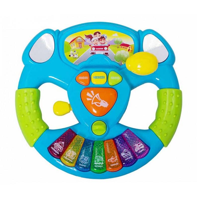 """Музыкальная игрушка - руль """"Вперед!"""" (Play Smart 7526)"""