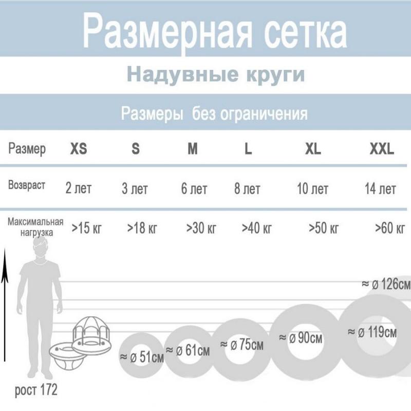 """Надувной детский круг """"Тропические рыбки"""" (Intex 59223)"""