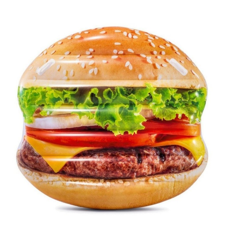 """Надувной плот-матрас """"Гамбургер"""" (Intex 58780)"""