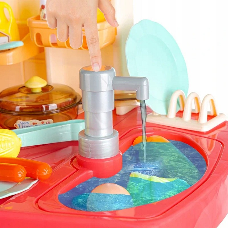 Детская игровая кухня с водой и паром, 100 см (арт. 998B)