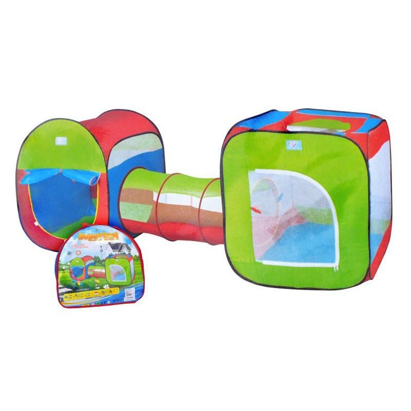 Детская палатка с туннелем, 3 в 1 (арт. M2503)