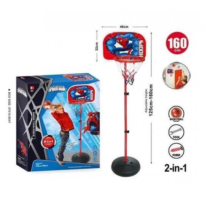 Баскетбол - Человек Паук, стойка 160 см (арт. MY1704C)