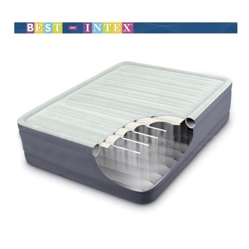 Надувная кровать серии Prem Aire, премиум класса (Intex 64904)