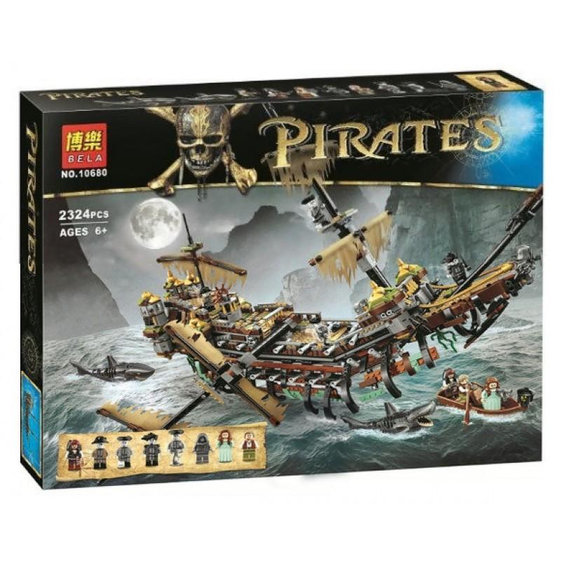"""Конструктор """"Pirates of the Carribean - Безмолвная Мэри"""" (Bela 10680)"""