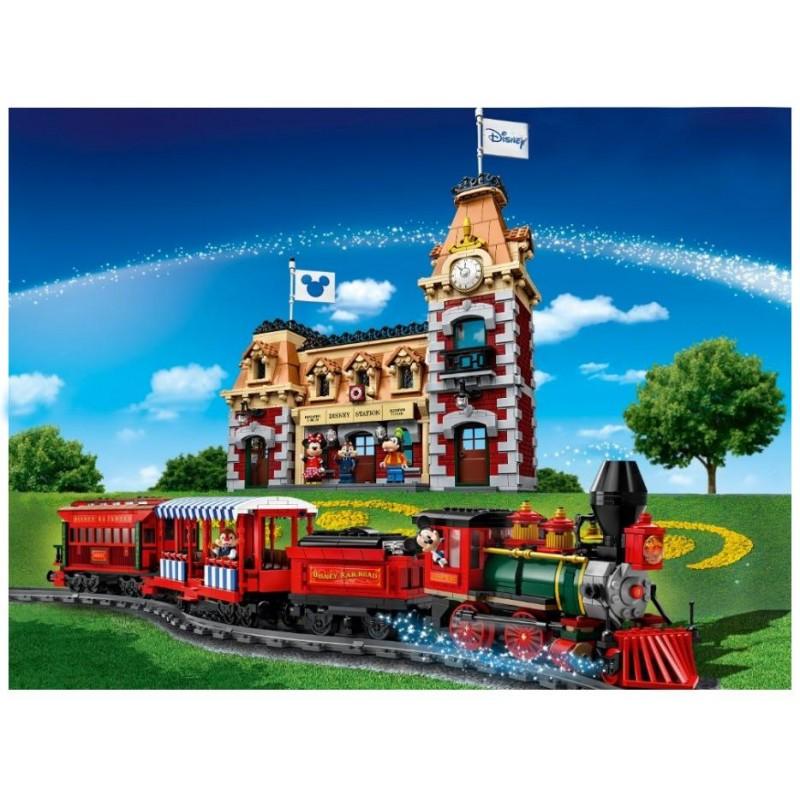 """Конструктор """"Дисней - Поезд и станция Disney"""" (Bela 11442)"""