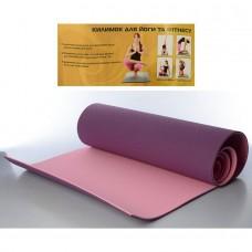 Коврики для йоги и фитнеса (Profi MS0613-1-VP)