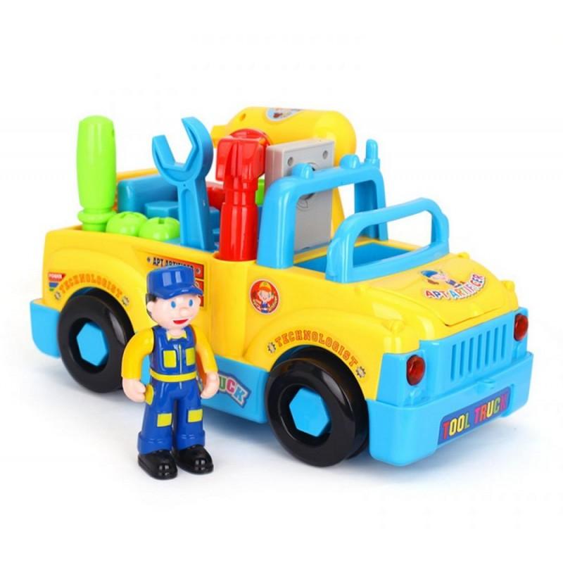 Машина с инструментом (HuiLe Toys 789)