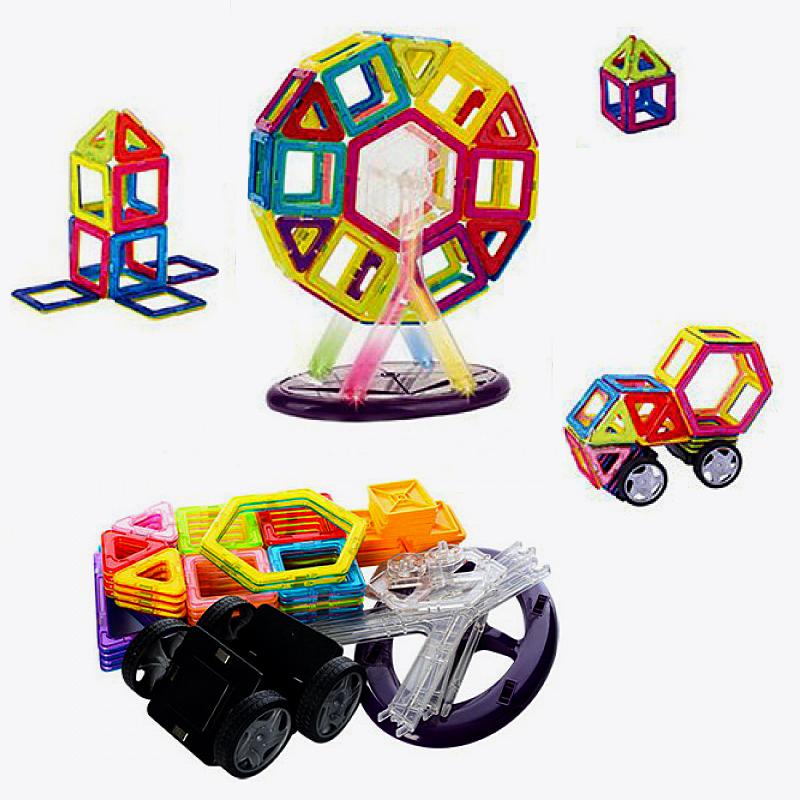 Магнитный 3D конструктор Magical Magnet, 71 дет. (арт. 704A-3)