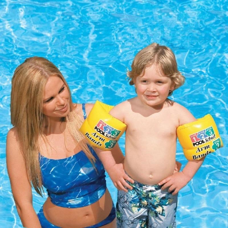 Детские надувные нарукавники для плавания 20 х 15 (Intex 56643)